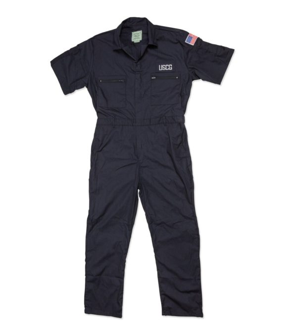 65/35 Blended USCG Short Sleeve Coverall