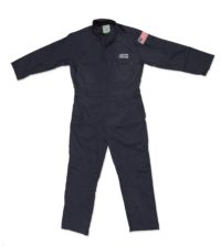 Lightweight USCG Long Sleeve Blended Coveralls