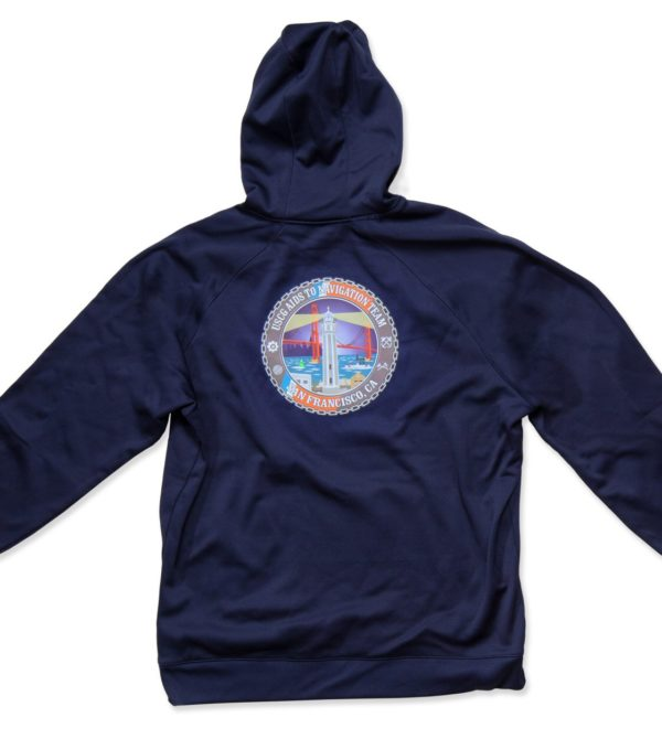 USCG Hoodie with Station Morale Logo